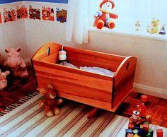 Cuna Mecedora para Bebes, Carpinteria Paso a Paso