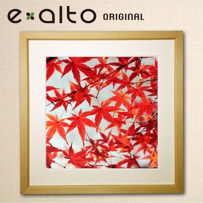 壁掛けアート額縁付アートパネル紅葉/もみじの風景画/y2-hiroジクレープリント額縁付き