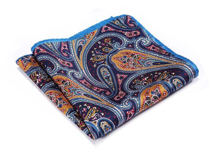 paisley pocket square - 100%silk hand made http://www.luxusni-moda.cz/doplnky-panske/kapesnicky-do-saka.html