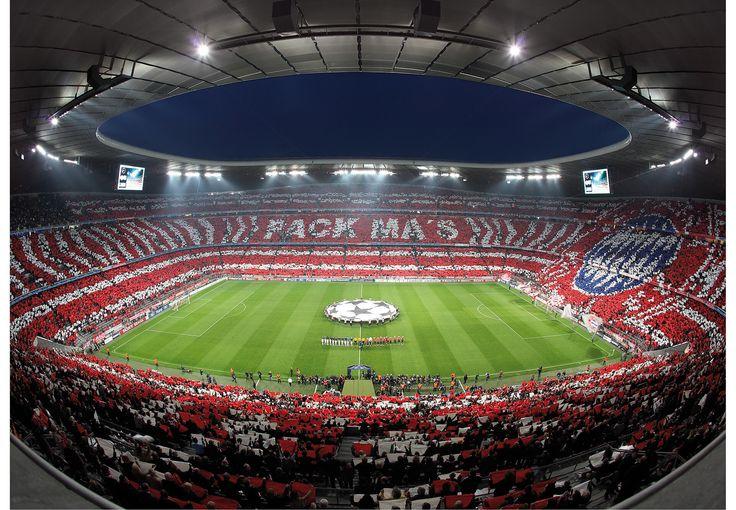 Ein wunderschöner Blick in die berühmte Allianz Arena!