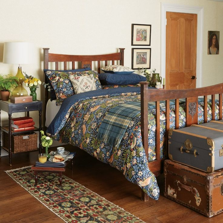 William Morris Bedding   Strawberry Thief Duvet Cover Sets at Bedeck Home