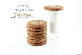 Healthy GINGER SNAP Cookie Recipe (Vegan) These are perfect for this time of year! Healthy GINGER SNAP Cookie Recipe #Vegan #GlutenFree #GrainFree http://www.damyhealth.com/2014/10/healthy-ginger-snap-cookie/