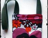borsetta in tessuto vintage bambina multi fiori : Borse a tracolla di glamstraat