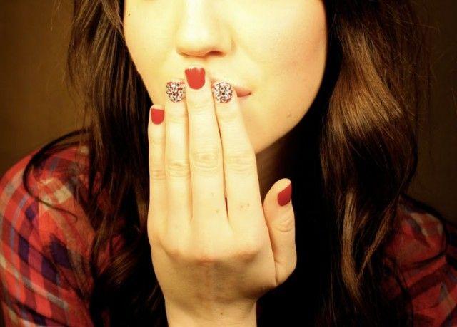 Fiberglass Nail Wraps: Fiberglass Nail Wraps And Nail Crystal For Cute Girl ~ Nail Designs Inspiration