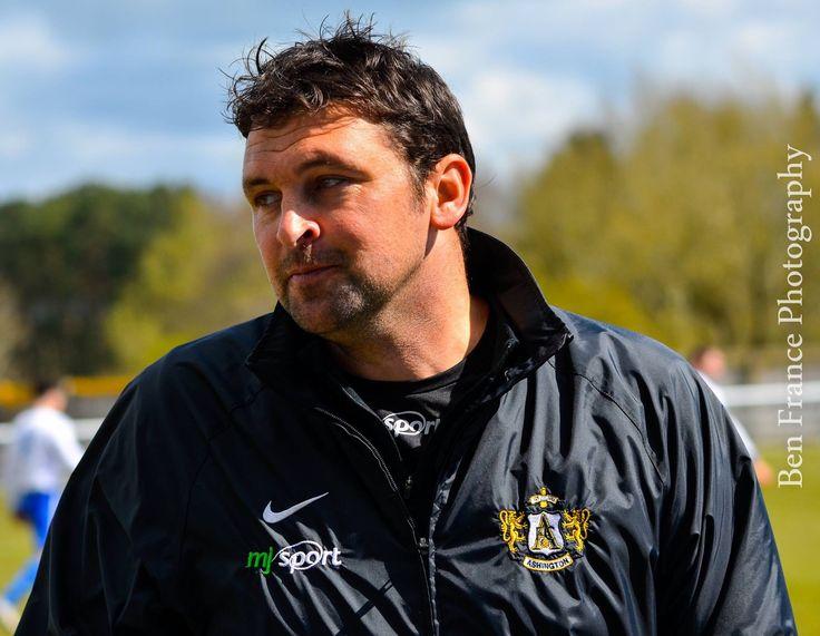 Steve Harmison visits Penrith AFC with Ashington