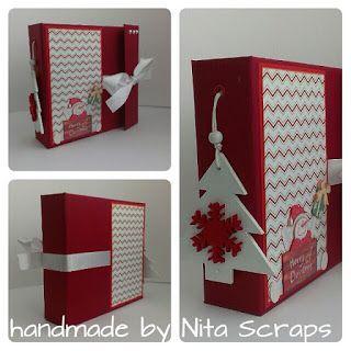 """Nita Scraps: Tutorial """"Christmas Wishes"""" - resultado"""