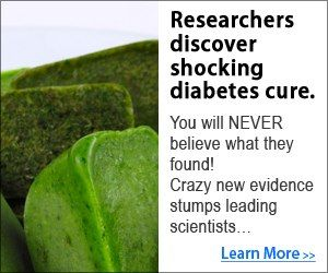 Researchers Discover Shocking Diabetes Cure