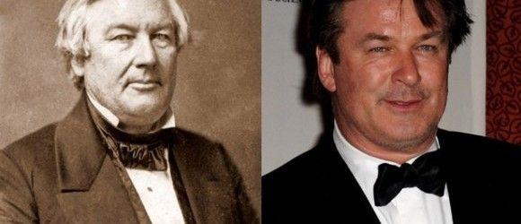Funny celebrities historical look-alikes