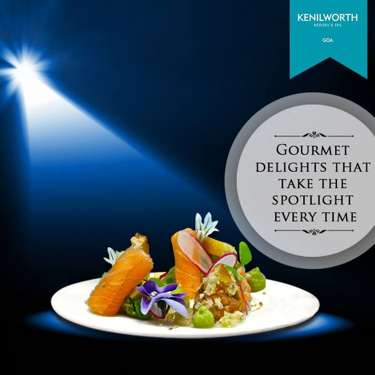 Submit your senses to sheer deliciousness. Drop in at Aquarius for a fine dining experience.  #KenilworthHotels #FineDining #Hospitality #Luxury #Spa #Resort #Goa