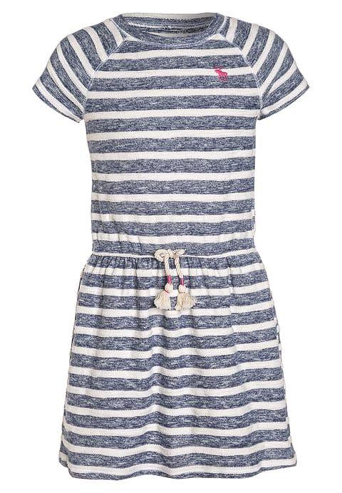 Kleding Abercrombie & Fitch EASY - Gebreide jurk - navy/white Donkerblauw: € 33,45 Bij Zalando (op 19-7-17). Gratis bezorging & retour, snelle levering en veilig betalen!