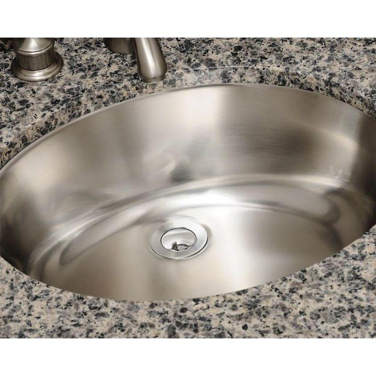 Polaris Sinks P7191 Stainless Steel Vanity Sink In 2019