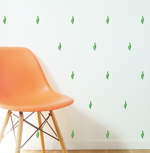 mini catcus stickers decals make super wallpaper effect https://www.moonfacestudio.com.au/product-page/cactus-pattern-vinyl-wall-sticker-decal