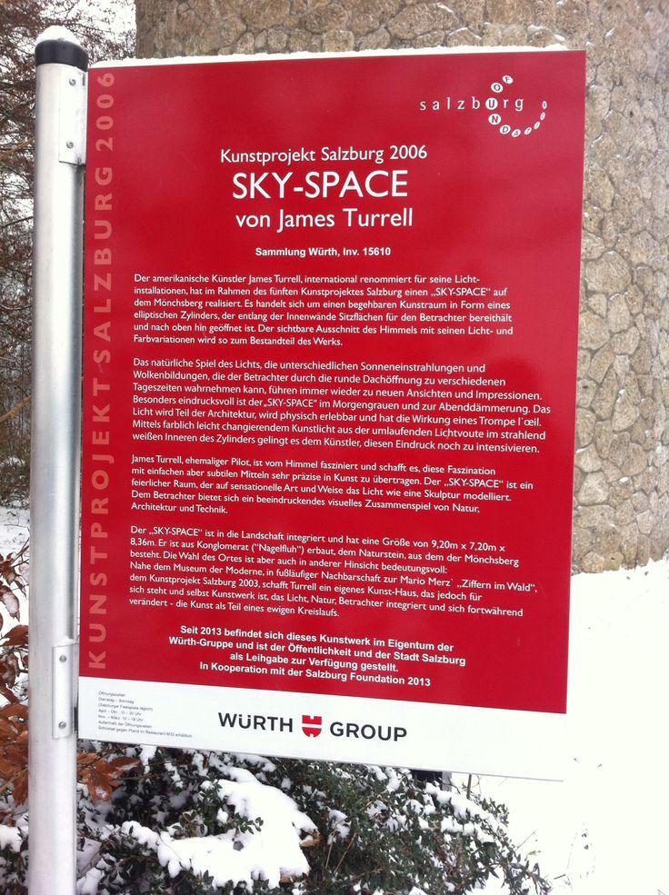 Sky Space, James Turrell. Museum der Moderne, Salzburg