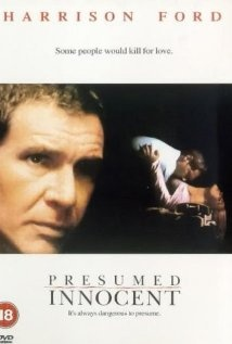 Harrison Ford is framed for murder in Presumed Innocent