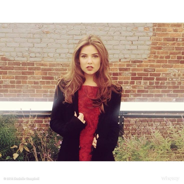 I'm in love with stunning Danielle Campbell beautiful in stylish red lace dress and black cardi cool combo. <3 ~ <3 ~ <3