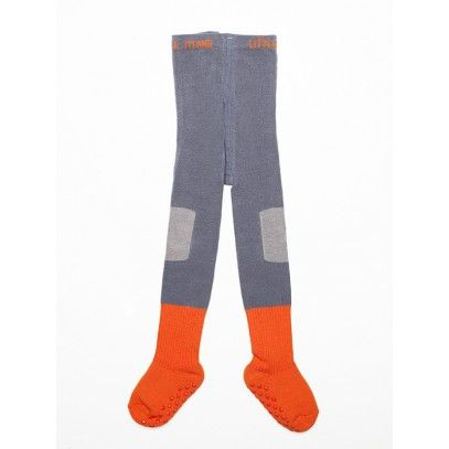 Little Titans 'atomic orange' tights