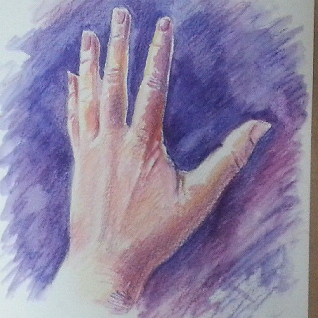 Hand number five by Liz Powley #100hands
