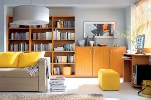 Tip-Top BRW Home Office (Library). The design which allowed to achieve maximum effect with simple means. Relation of the price of respective elements to their functionality and fashionable form caused that when it was introduced onto the market Tip-Top was a definite sales hit. Polish BRW Modern Furniture Store in London, United Kingdom #furniture #polish #brw #homeoffice