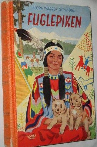 """""""Fuglepiken - Eng - Bird girl Sacagawea"""" av Flora Warren Seymour"""