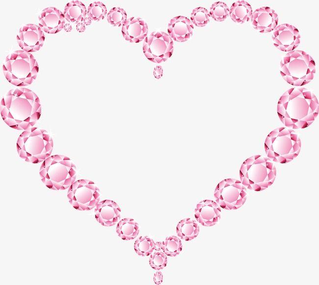Pink Diamond Heart Diamond Clipart Heart Clipart Pink Diamond Png Transparent Clipart Image And Psd File For Free Download Pink Diamond Diamond Heart Diamond