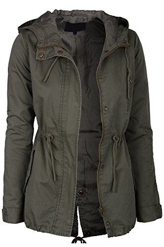 Womens Olive Green Lightweight Lined Zip Up Fashion Safari Hoodie Jacket Green Small Keebon Apparel http://www.amazon.com/dp/B00OTHS7O6/ref=cm_sw_r_pi_dp_KU-yub0T0A9P5