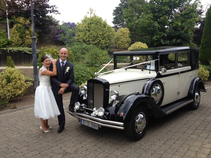 Sarah and John looking lovely on their wedding day!