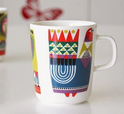 print & pattern blog: MARIMEKKO - kukuluuruu by Sanna Annukka