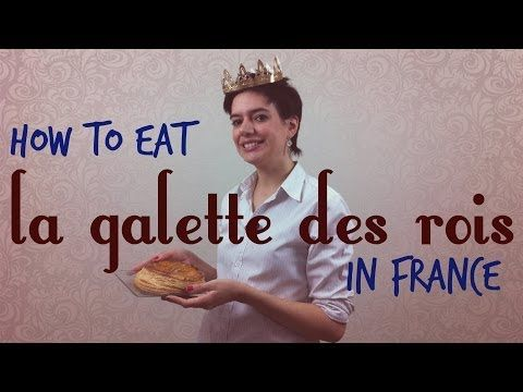 ▶ How to eat la galette des rois in France - YouTube