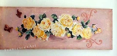 Καμβάς με μεικτή τεχνική https://www.facebook.com/pages/Francescas-Art/347467208699516