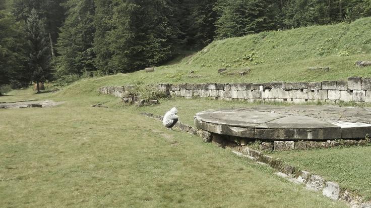 Sarmizegetusa - somekind of Stonehenge