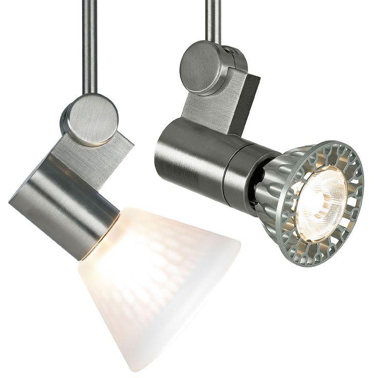 modern spot lighting. Tech 700ROT Roto Modern Satin Nickel Low Voltage Directional Lighting Head Spot G