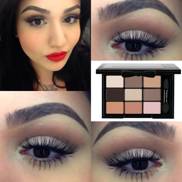 "NYX Love in Paris - ""Madeleines And Macaroons""   Keep it natural with neutral colors to bring out your vintage beauty"