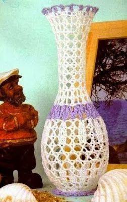 Un original jarrón.