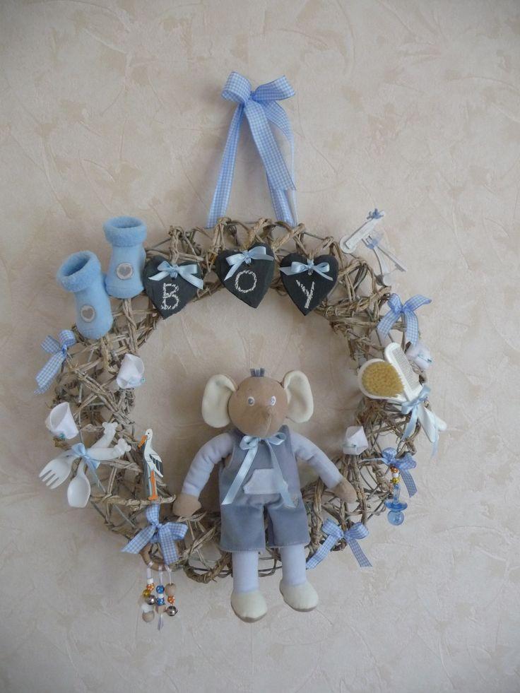 geboortekrans birth wreath