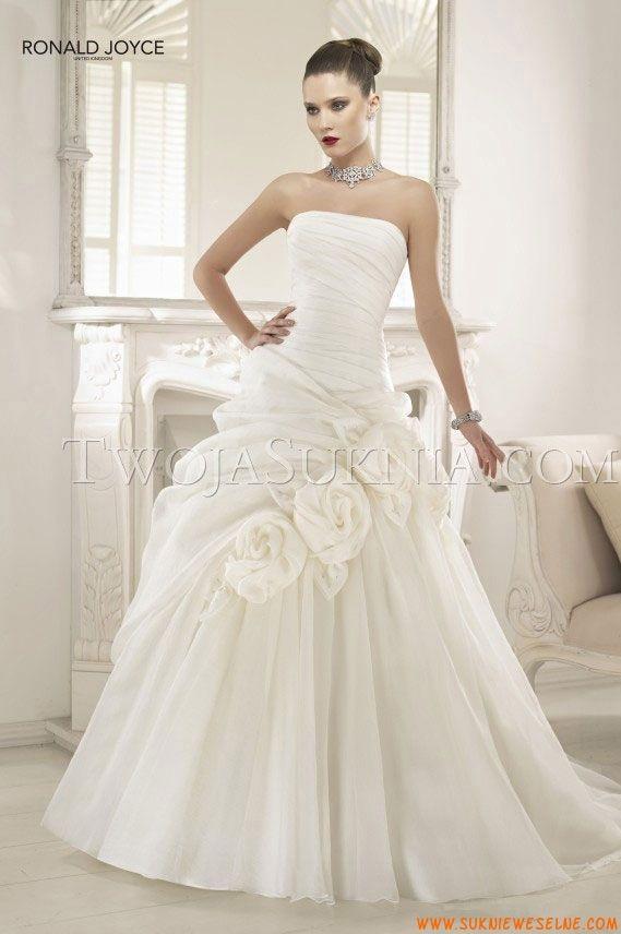 Suknia ślubna Ronald Joyce Peaches 2013
