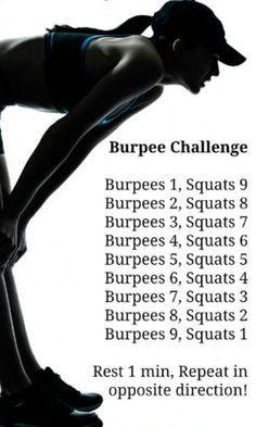 Burpee Challenge http://amzn.to/2rwu7B1