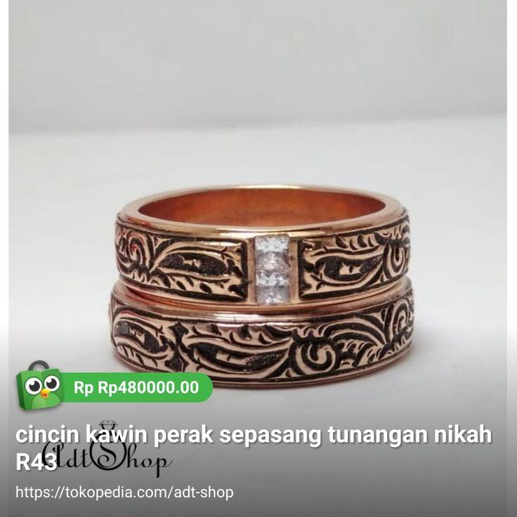 Pin oleh Adt Silver di cincin perak lapis emas kerajinan