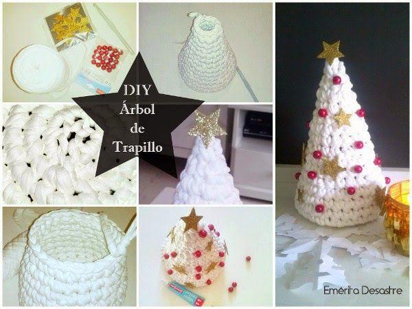 DIY Árbol de Navidad de Trapillo | Decorar tu casa es facilisimo.com