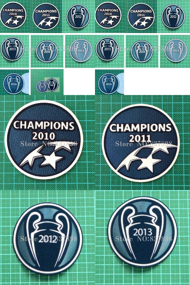 [Visit to Buy] Champions League Winner 2010 2011 2012 2013 2014 2015 2016 2017 Soccer  badge Cashmere material velvet UCL 2017  #Advertisement