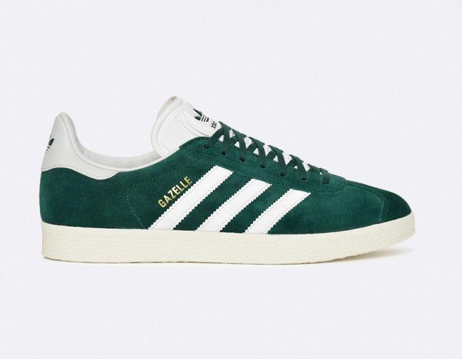 Adidas Gazelle boutique verte
