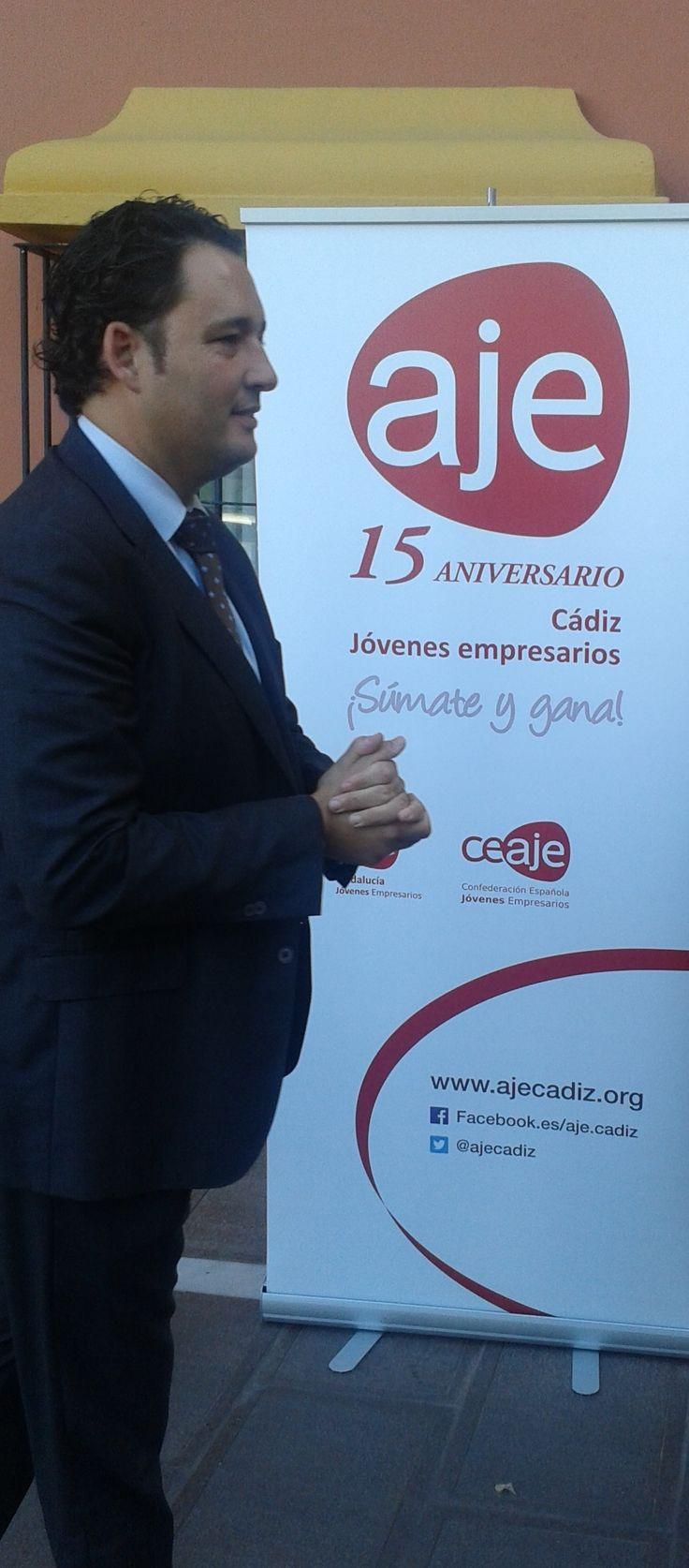 """Casas Asin en Algeciras en la edición """" Negocios a la carta"""" compartiendo mesa con D. Manuel Doblado, nuevo Presidente de la Asociación de Grandes Industrias del Campo de Gibraltar."""