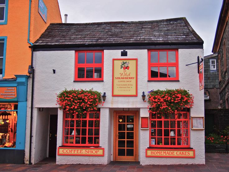 The Wild Strawberry Coffee Shop   Keswick, England