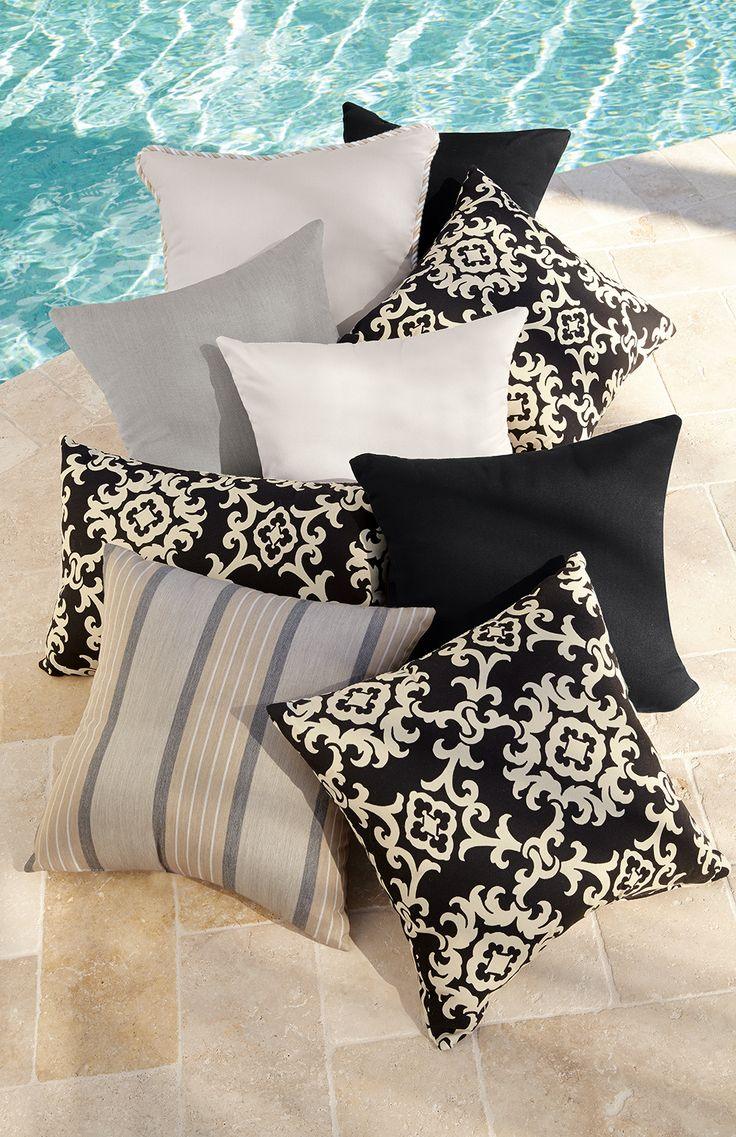 Square   Home Decorators Collection   Outdoor Pillows   Outdoor Cushions    The Home Depot