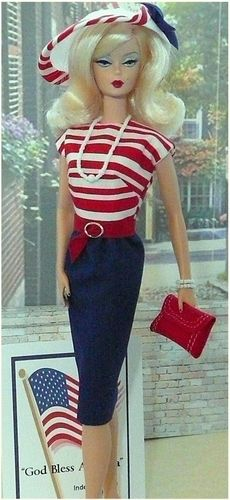 Fashions Inspired from Vintage Barbie Outfits  I want this outfit for 4th of July this year!