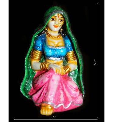 Rajasthani Ghunghat Lady @ Rs 500  only order Now http://www.krafthub.com/rajasthani-ghunghat-lady.html