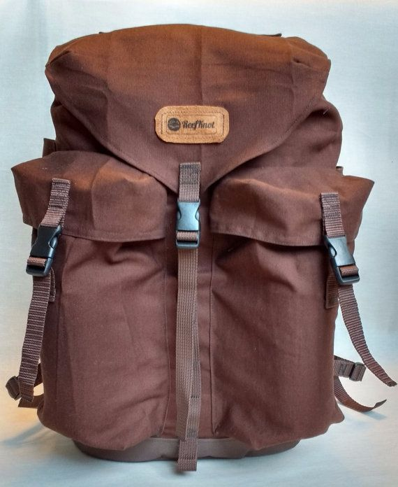 The Bushcrafter 35l pack heavy duty canvas backpack / Hiking Backpack / Scout backpack / Vintage Backpack Rucksack