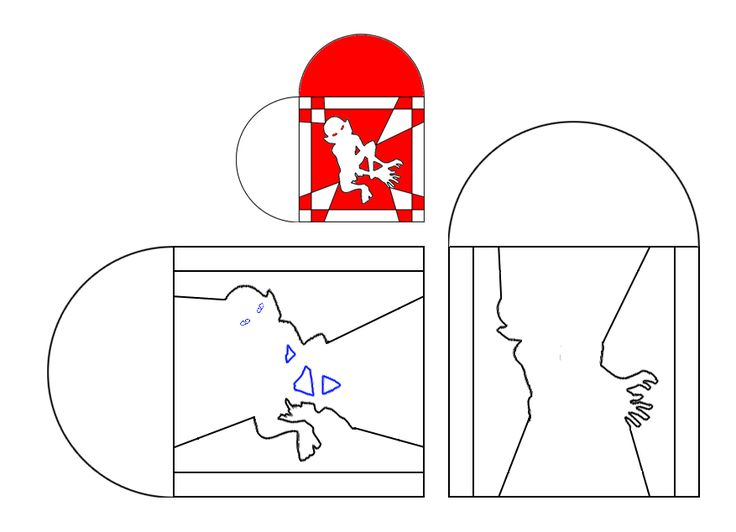 gollumhjerte-skabelon.jpg (877×634)