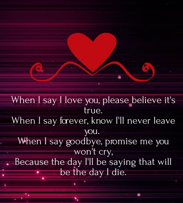 My Love For You Poems For Him