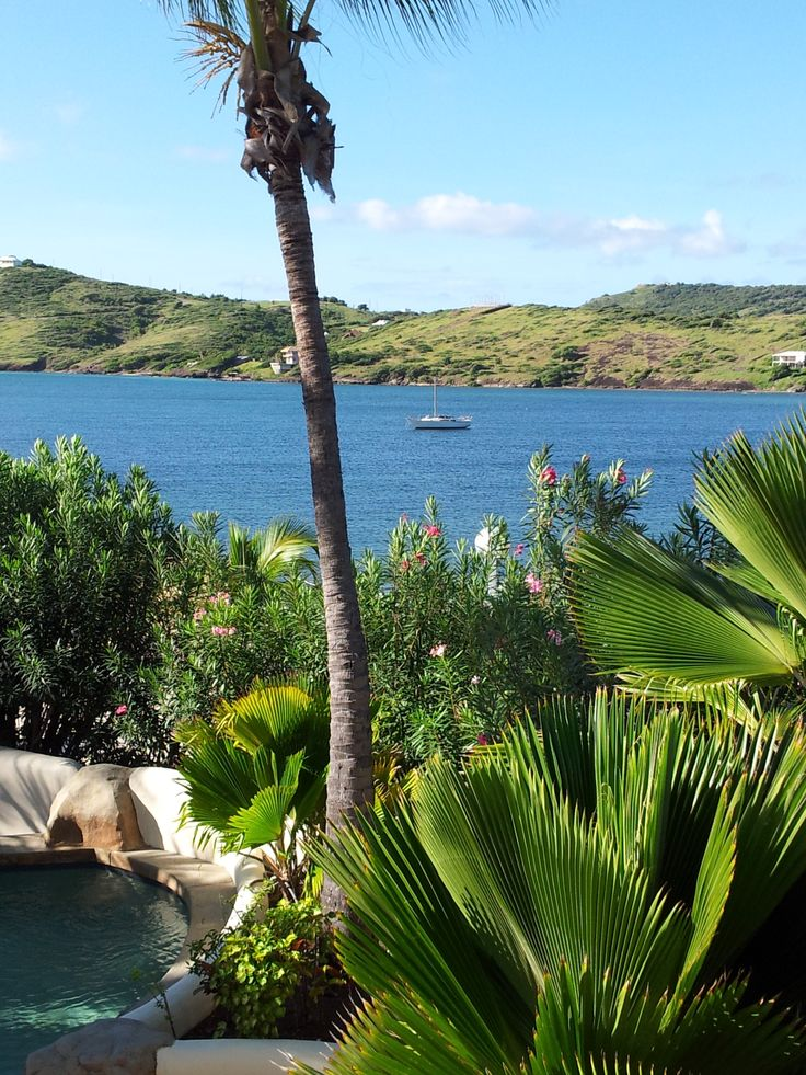 View from my Villa at St James club.