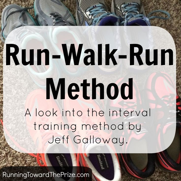 Information and my thoughts regarding Jeff Galloway's run-walk-run interval method!